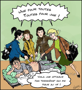 Dessins humoristiques divers dessins d 39 humour par yvern - Dessin infirmiere humoristique ...